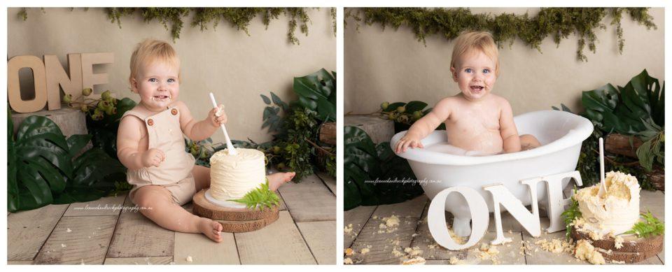Cake Smash Photographer Gold Coast - Leanne Handreck PHotography